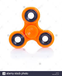 Designs Of Fidget Spinners Orange Fidget Spinner Isolated On White Background Popular
