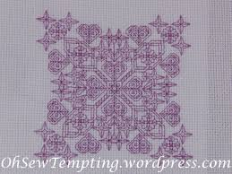 Free Blackwork Embroidery Charts Free Chart Oh Sew Tempting
