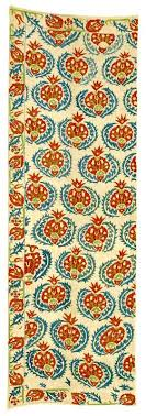 antique ottoman silk embroidery quilt cover yorgan yuzu panel