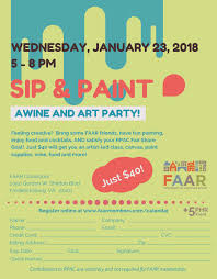 Wine And Design Fredericksburg 01 23 2018 Sip And Paint Fredericksburg Area Association