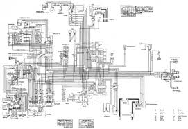 electricity part circuit diagrams bull reference information 1982 gl1100a schematic diagram
