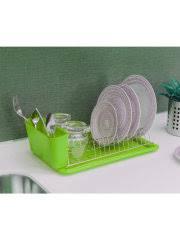 Сушилка для посуды настольная с <b>поддоном</b> Cristal De Luz ...