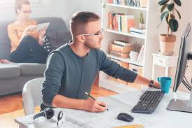 Home office setup work home Workspace Aussiebroadband 11 Of The Best Home Office Setups Weve Come Across Aussie Broadband 11 Of The Best Home Office Setups Weve Come Across Aussie Broadband