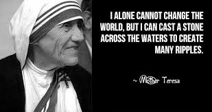 Mother Teresa's Quotes Awesome Vital Sunday Mother Teresa Quote The DAILY REVOLUTION