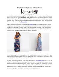 Making Outfits Website Shop Online Pretty Dresses At Rimyrah