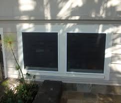 new lip frame window screens over jalousies