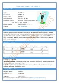 Resume Format For Accountant Freshers - Resume Template Ideas