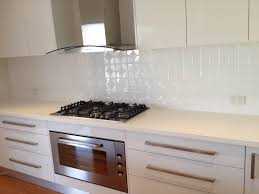 Splashback For White Kitchens The Kitchen Is Now Complete With Its Mudgee Pressed Metal