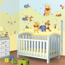baby nursery baby nursery wall stickers disney winnie the pooh wall decor sticker kit 79