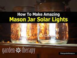 cute how to make mason jar solar lights easy diy project in diy mason jar lights