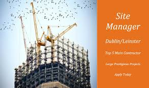 Construction Site Manager Jobs Ireland