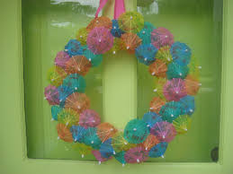 summer wreaths for front doorAlexandra Bee Blog Summer DIY Wreath