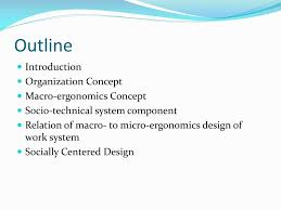 Macroergonomics An Introduction To Work System Design Ppt Organizational Design And Macroergonomics Powerpoint