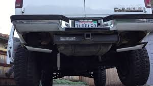 Silverado 99 chevy silverado exhaust : 1997 2 door Tahoe 5.7 Vortec Flowmaster true dual exhaust - YouTube