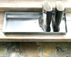 Decorative Boot Tray Metal Boot Tray Interesting Decorative Shoe Racks About Remodel 97