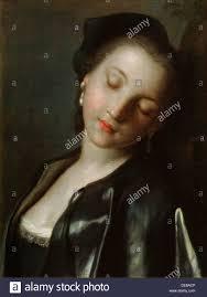 sleeping young w mid th century artist pietro rotari   sleeping young w mid 18th century artist pietro rotari