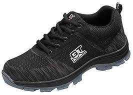 D DOLITY Breathable <b>Steel</b> Toe Cap Safety Shoes - <b>Men Outdoor</b> ...