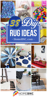 38 ways to e up your interior with diy rug ideas