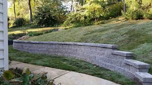 retaining walls are an attractive way to overcome an undesirable slope make terraces for planting bedore we can build a beautiful retaining wall