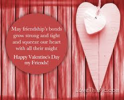 Valentine Quotes For Friends Stunning Happy Valentine's Day Quote For Friends Pictures Photos And Images