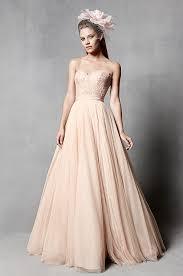 pretty blush wedding dress from watters spring 2014 bridal