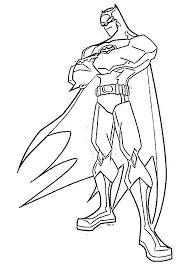 Small Picture Unique Batman Coloring Page 45 About Remodel Free Coloring Book