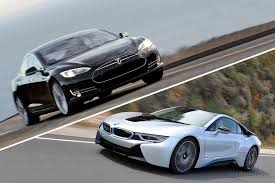 Coupe Series 2013 bmw i8 : Another BMW i8 vs. Tesla Model S Comparison
