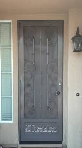 112 iron security door