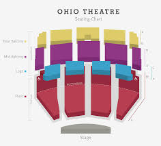 Club Nokia Seating Chart 30 Explanatory The Buell Theatre Seating Chart