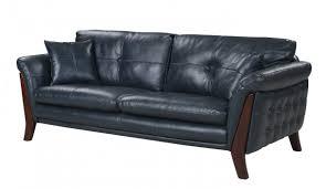 mid century modern leather sofa. Photo 8 Of 10 Makeba Mid-Century Modern Real Leather Sofa (awesome Black Mid Century # U