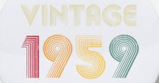 small ons1959 60th birthday birthday gift ideas