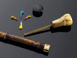 Decorative Canes Walking Sticks Antique Canes and Walking Sticks Decorative Canes Blow Dart Cane 44