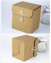 square kraft kraft corrugated cardboard paper gift box gift packaging paper craft box