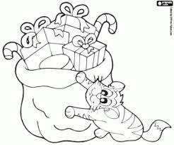 Kleurplaten Huisdieren In Kerstmis Kleurplaat