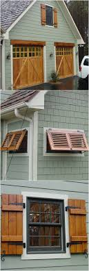 Diy Exterior Window Shutters Best 25 Wood Shutters Ideas On Pinterest Rustic Shutters