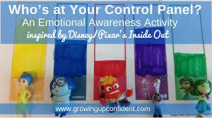 Inside Out Feelings Chart Printable Whos At Your Control Panel Emotional Awareness Activity