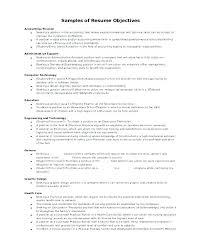 On Job Training Objectives Resume Job Objective Arzamas