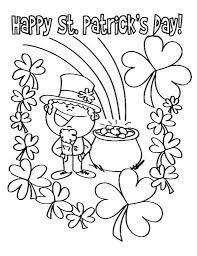 Small Picture st patrick s day coloring pages for kids Archives Best Coloring Page