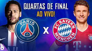 PSG X BAYERN DE MUNIQUE - Champions League AO VIVO - YouTube
