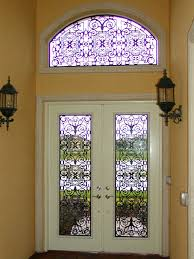 faux iron window treatment in houston spring woodlands accent decorative faux wrought iron window insert