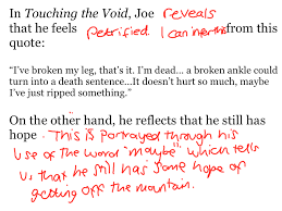 sample touching the void essay touching the void argumentative essay is a huge rule in the climbing community and simon was given a lot of grief when