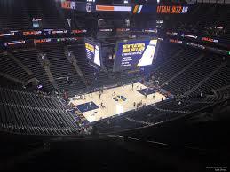 Vivint Smart Home Arena Section 116 Utah Jazz