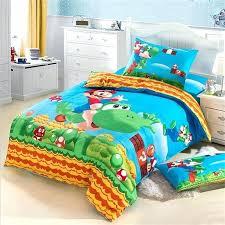 super mario bedding set kids character super bedding set pure cotton printed fabric single bed sheets super mario bedding set