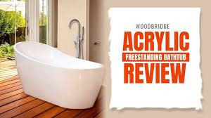 best bathtub 2018 the ultimate woodbridge acrylic freestanding bathtub review new