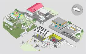 Petrol Station Layout Design Reebok Reimagines Gas Stations As Fitness Hubs Gas Station