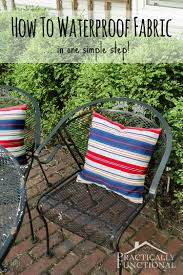 waterproof cushions for outdoor furniture. Did You Know That Making Fabric Waterproof Is As Easy Spraying It With A Cushions For Outdoor Furniture