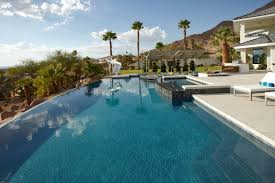 infinity pool backyard. Contemporary Pool Large Infinity Pool In Your House  Stunning Design  With Hot Tub Modern In Backyard