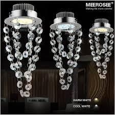 3 watt led crystal chandelier light fixture mini red blue black crystal light for aisle hallway