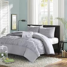 com mi zone mirimar comforter set full queen grey home kitchen