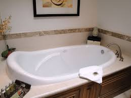bathroom design beautiful white soaker tubs with wooden wall tubs